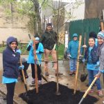 Tree Planting with the Al-Aqsa Youth Club