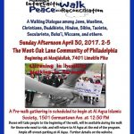 14th Annual Interfaith Peacewalk for Peace and Reconciliation