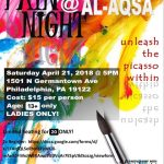 Paint Night at Al Aqsa for Women and Girls